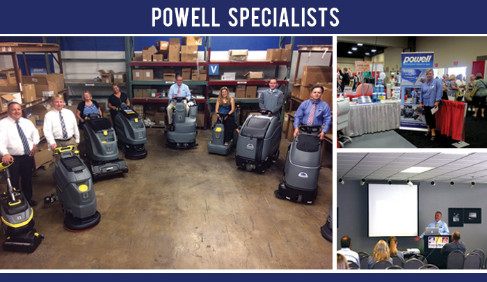 powell sales specialist header