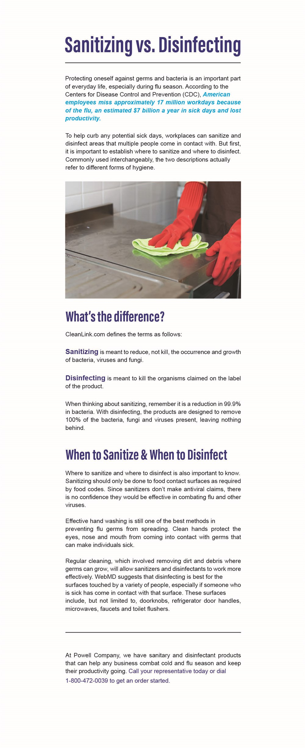 1-20 sanitizing vs disinfecting