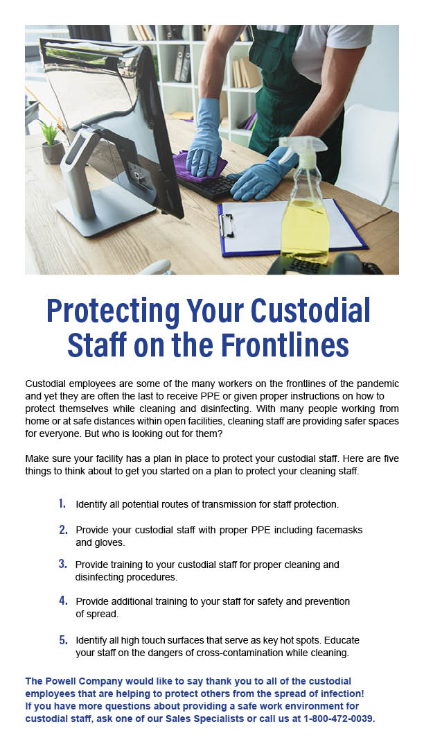 4-20 Protecting Custodial Staff