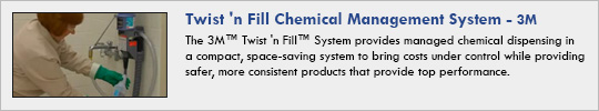 Twist 'n Fill Chemical Management System