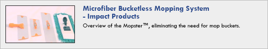 Impact Products - Microfiber Bucketless Mopping System