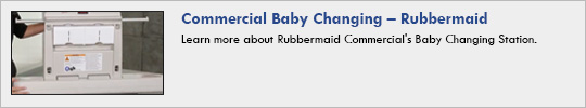 Rubbermaid - Commercial Baby Changing