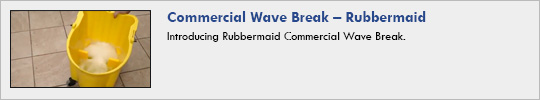 Rubbermaid - Commercial Wave Break