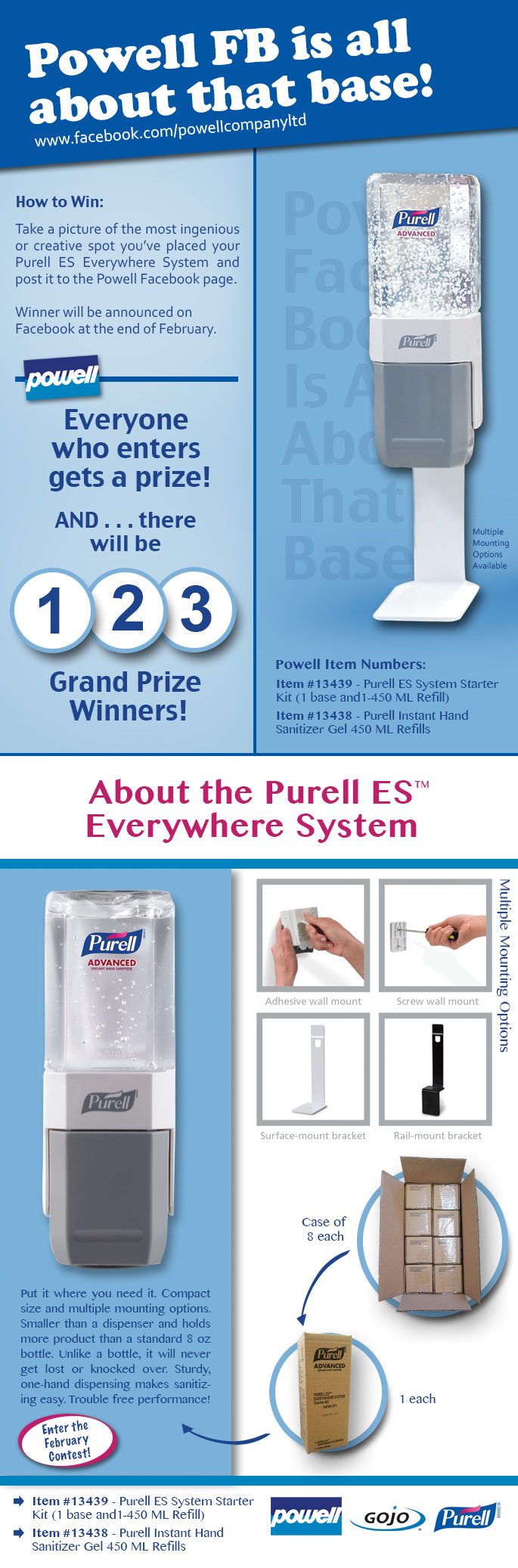 2-15 Purell ES Everywhere System Contest