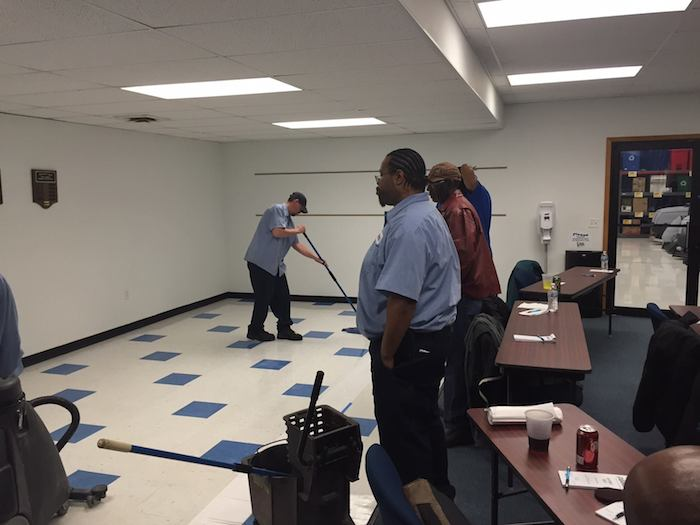 3-15 Hard Floor Care Training